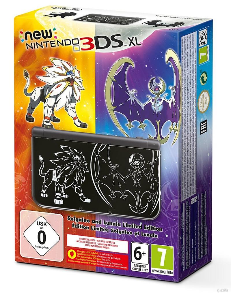 Nintendo New 3ds Xl Pokemon Sun Moon Edition 211008 Tl Kdv
